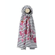 Joules Flora Embroidered Dames Sjaal