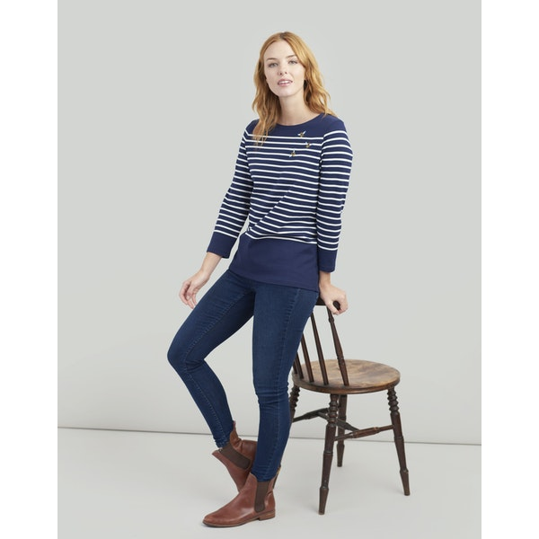Joules Harbour Embroidered Women's Top