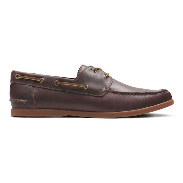 sale most fashionable best place Clarks Morven Sail Men's Dress Shoes - British Tan Leather ...