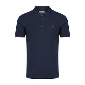 Farah Blanes Men's Polo Shirt - Navy