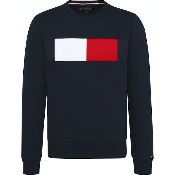 Tommy Hilfiger Flag Chest Logo Sweater