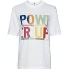T-Shirt à Manche Courte Femme Tommy Hilfiger Tora Rainbow Print
