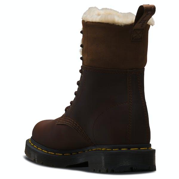 Dr Martens 1460 Kolbert Snowplow Waxy Suede Women's Boots