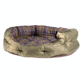 Barbour Quilted 35 Dog Bed - Olive