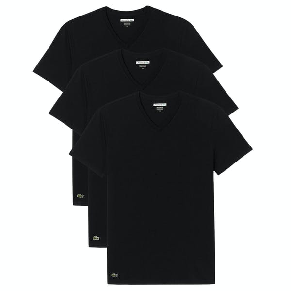 T-Shirt à Manche Courte Lacoste Slim Fit 3 Pack