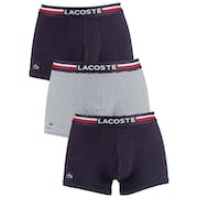 Caleçons Lacoste Trunk 3 Pack