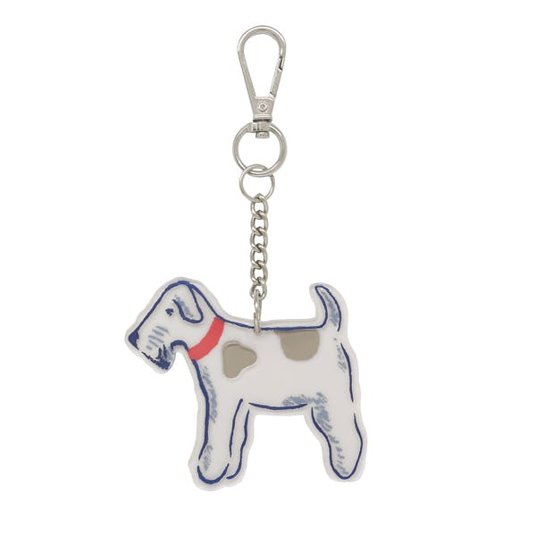 Cath Kidston Dog Charm Dames Sleutelhanger