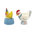 Cath Kidston Chicken Egg Timer and Egg Cup