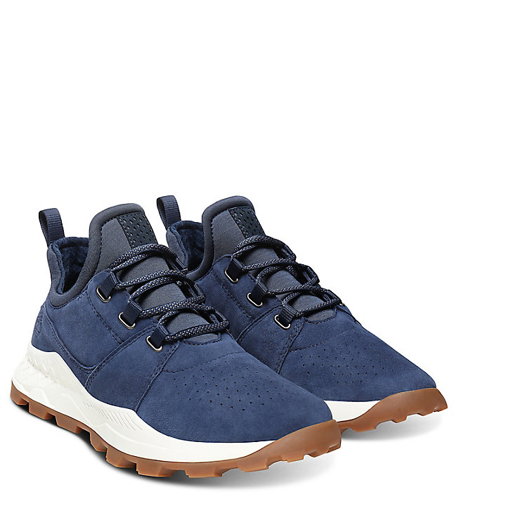 sur Brooklyn Soldes Lace Oxford Chaussures Timberland redCxBo