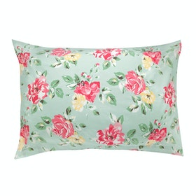Cath Kidston Set Of Two Pillow Cases Bedding - Box Floral
