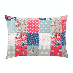 Cath Kidston Set Of Two Pillow Cases Bedding - Large Patch
