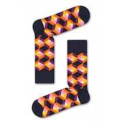 Meias Happy Socks Optic Squre
