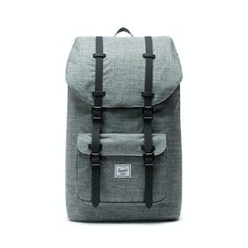 Herschel Little America Backpack - Raven Crosshatch black