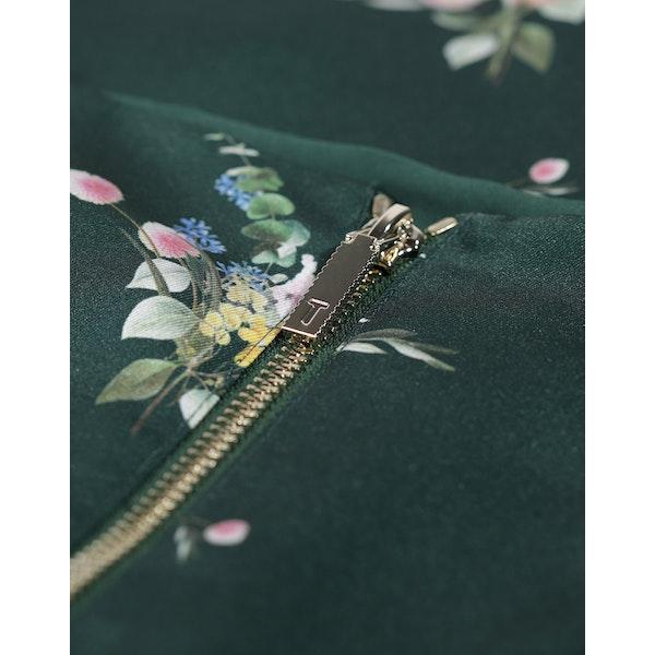 Ted Baker Anabell Flourish Asymmetric Midi Skirt