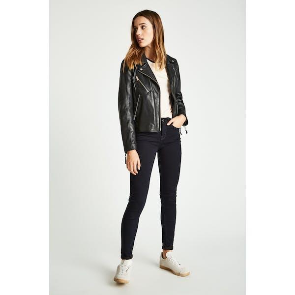 Jack Wills Fernham Highwaisted Super Skinny Kvinner Jeans