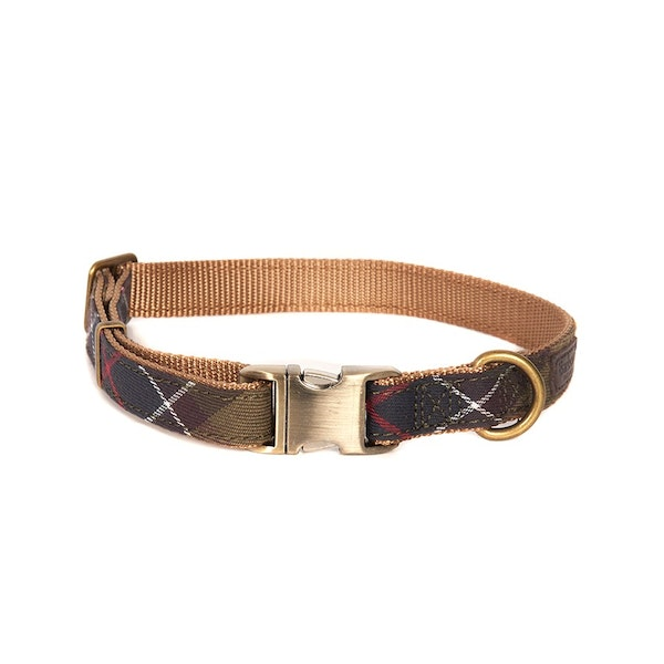 Barbour Tartan Web Dog Collar