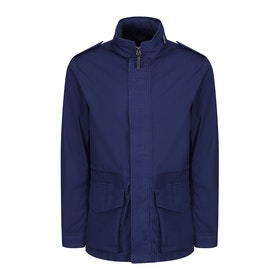 Hackett Lightweight Field Jacket - Bright Navy
