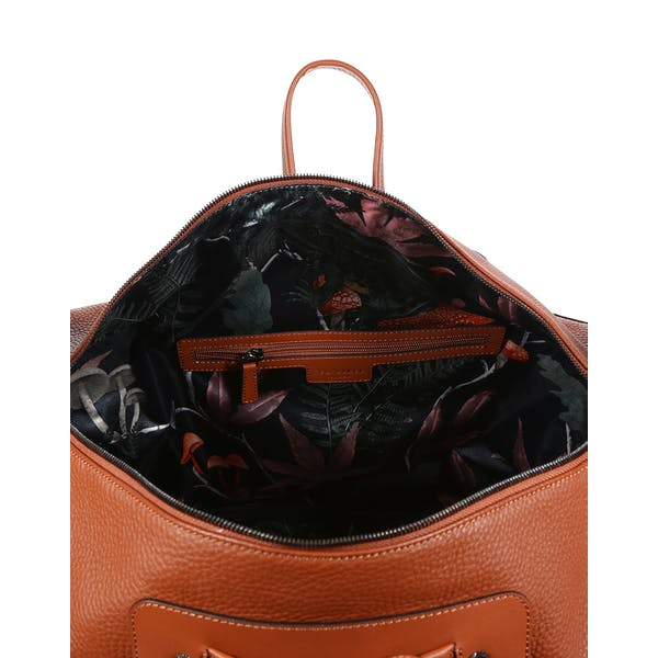 Ted Baker Gansu Leather Holdall Dufflebag