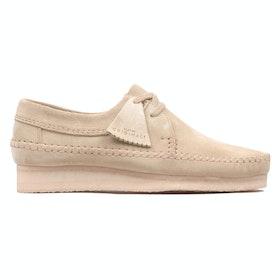 Clarks Originals Weaver Dress Shoes - Maple Suede