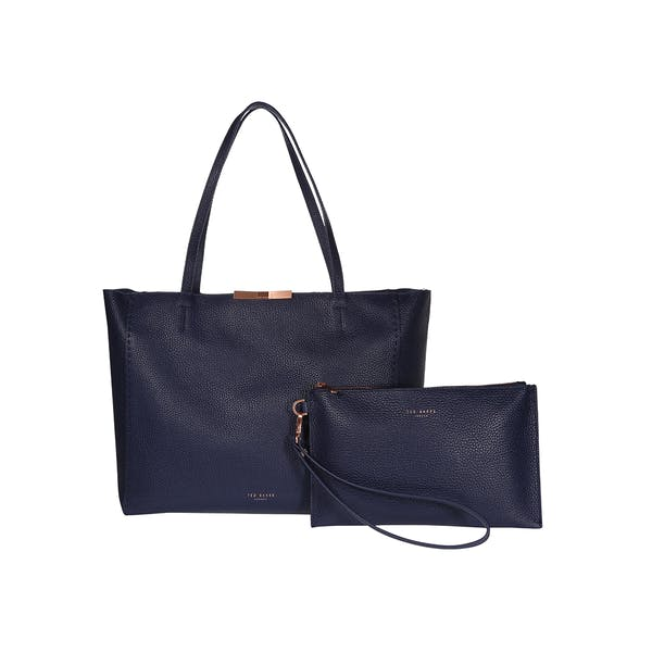 Bolso de viaje Ted Baker Clarkia Soft Grain Faceted Bar