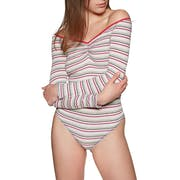 Free People Put A Stripe On It Women's Bodysuit