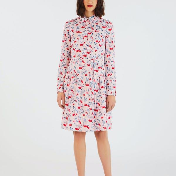 Cath Kidston Cherry Shirt Kjole