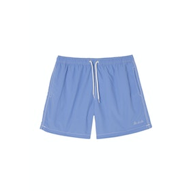Maison Labiche De Bain The Dude Men's Swim Shorts - Light Blue