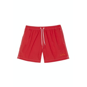 Maison Labiche De Bain Beach Boy Men's Swim Shorts - Red