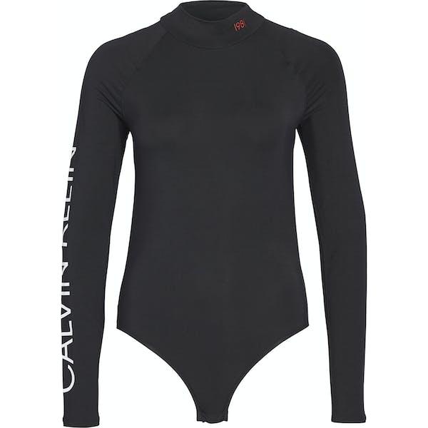 Calvin Klein Long Sleeved Women's Bodysuit