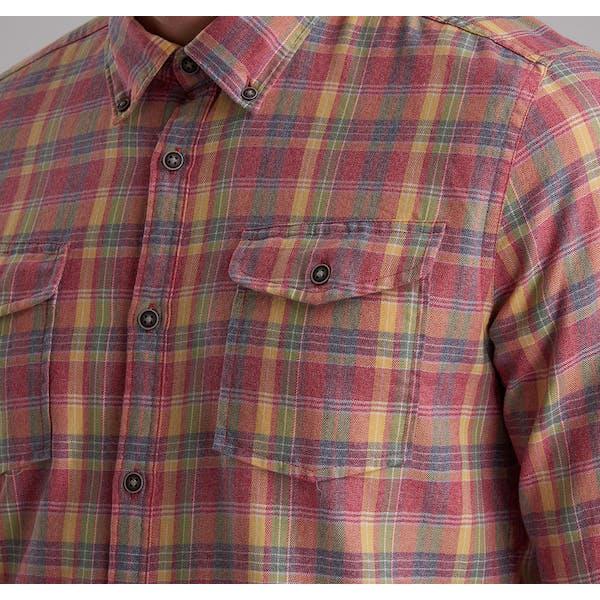 Barbour International Steve Mcqueen Seven Check Washed Shirt