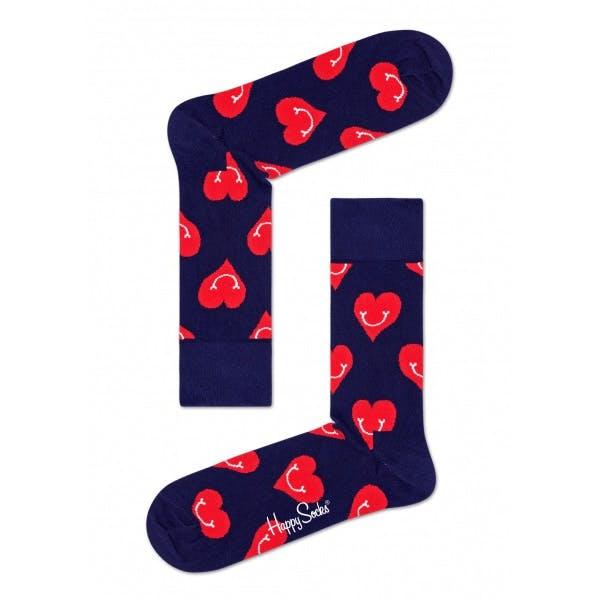 Meias Happy Socks Smiley Heart