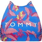 Tommy Hilfiger Tropical Print Crop Top Vršek k bikinám