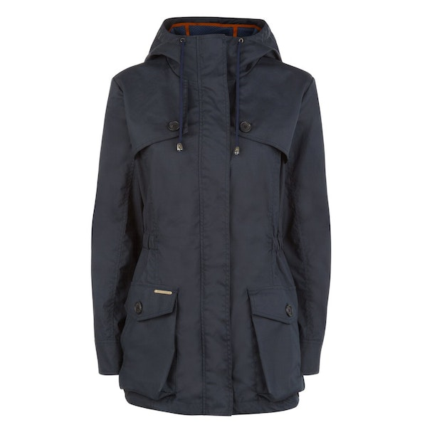 Troy London Pop Wax Parka Women's Wax Jacket
