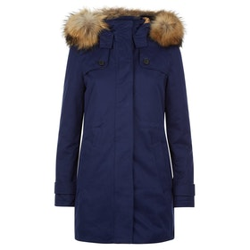 Troy London Troy Parka Women's Jacket - Navy