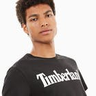 T-Shirt à Manche Courte Timberland Kennebec River Linear Logo