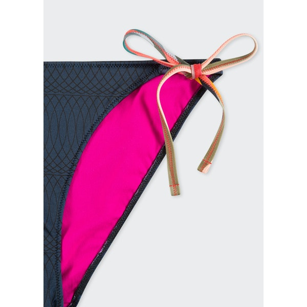 Paul Smith Swirl Tie Side Spodek k bikiám