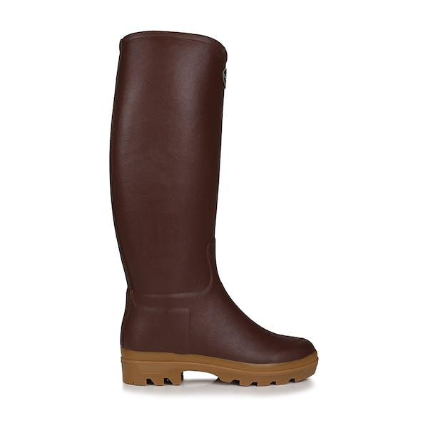 Le Chameau St Hubert 34cm Width Women's Wellington Boots