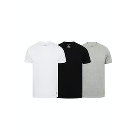 Abbigliamento da Casa Lyle & Scott 3 Pack Maxwell - Bright White Grey Marl Black