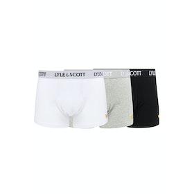 Lyle & Scott 3 Pack Barclay Boxer Shorts - Multi