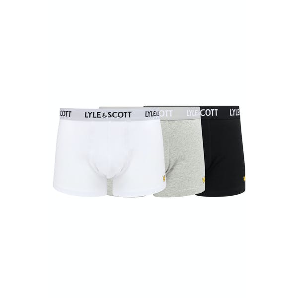 Lyle & Scott 3 Pack Barclay Boxer Shorts