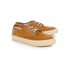 Fred Perry Ealing Low Suede Schuhe - Brown Sugar