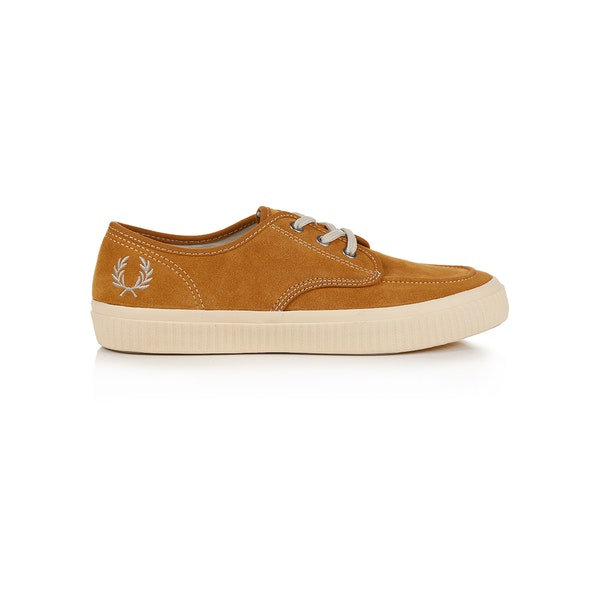 Fred Perry Ealing Low Suede Schoenen