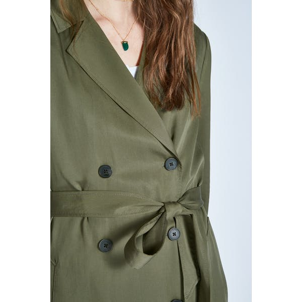 Jack Wills Malmsbury Fluid Belted Trench Dames Jas