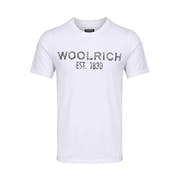 T-Shirt à Manche Courte Woolrich Floreal Logo