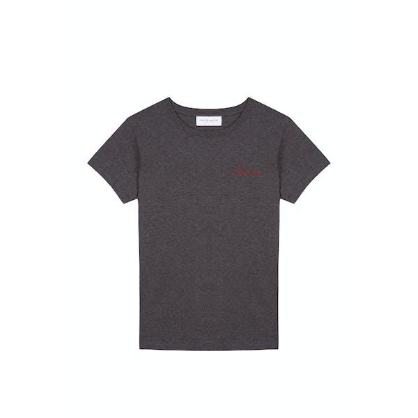Maison Labiche Boyfriend Blondie Damski Koszulka z krótkim rękawem