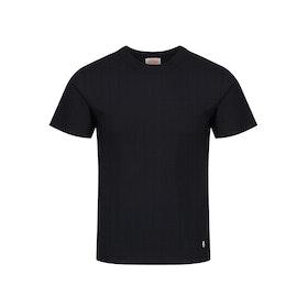 Armor Lux Callac Short Sleeve T-Shirt - Noir Ebene