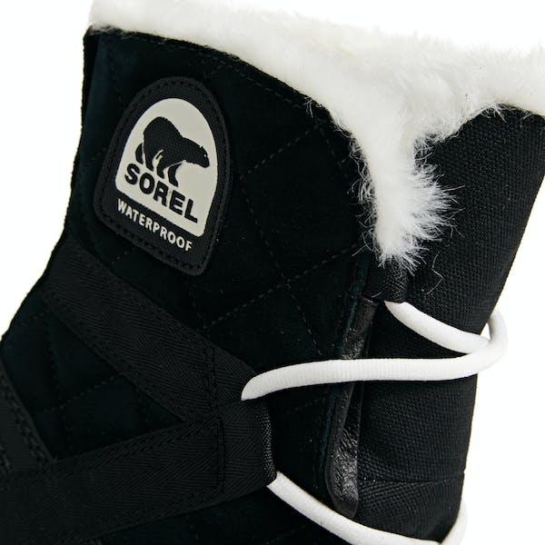 Sorel Glacy Explorer Shortie Faux Fur , Stövlar Dam