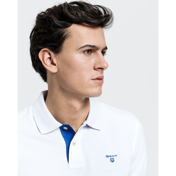 Gant Contrast Collar Men's Polo Shirt