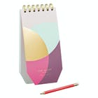 Ted Baker Spiral Bound Jotter with Pencil Colour By Numbers Book