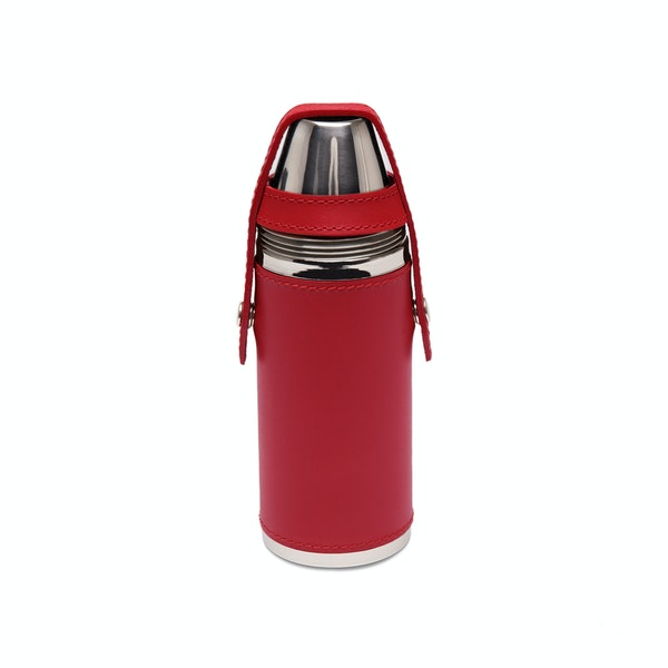 Ettinger 8oz Hunter's With 4 Cups Flask